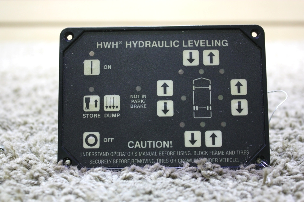 USED RV HWH HYDRAULIC LEVELING TOUCH PAD AP10054 FOR SALE RV Components