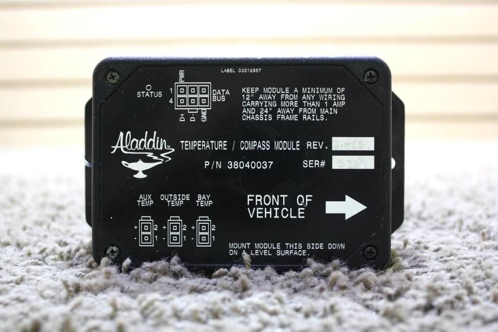 USED MOTORHOME ALADDIN TEMPERATURE / COMPASS MODULE 38040037 FOR SALE RV Components