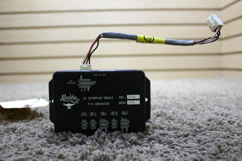 USED RV ALADDIN AC INTERFACE MODULE 38040035 FOR SALE RV Components
