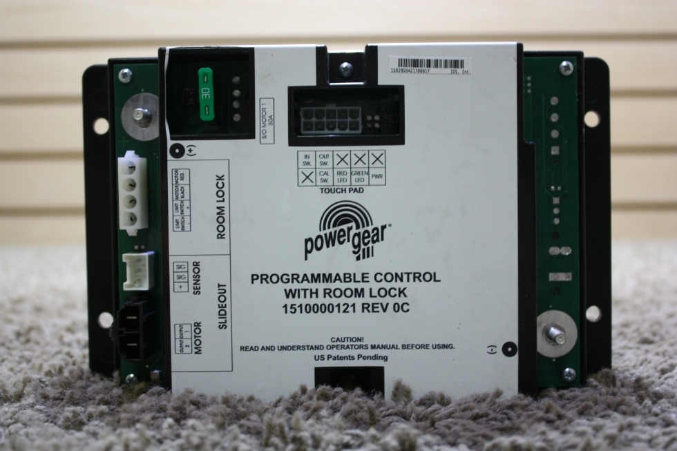 RV POWER GEAR PROGRAMMABLE CONTROL WITH ROOM LOCK 1510000121 FOR SALE RV Components