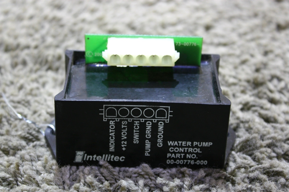 USED MOTORHOME INTELLITEC WATER PUMP CONTROL 00-00776-000 FOR SALE RV Components