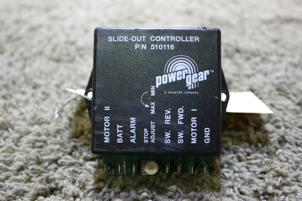 USED 510116 POWER GEAR SLIDE-OUT CONTROLLER MOTORHOME PARTS FOR SALE RV Components