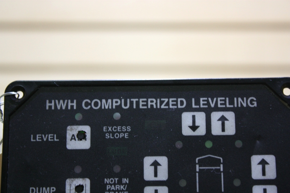 USED RV HWH COMPUTERIZED LEVELING AP8444 TOUCH PAD FOR SALE RV Components