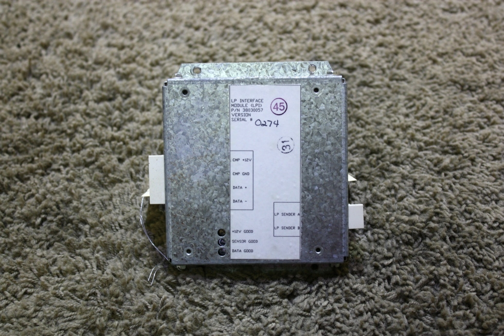 USED RV LP INTERFACE MODULE (LP) 38030057 FOR SALE RV Components
