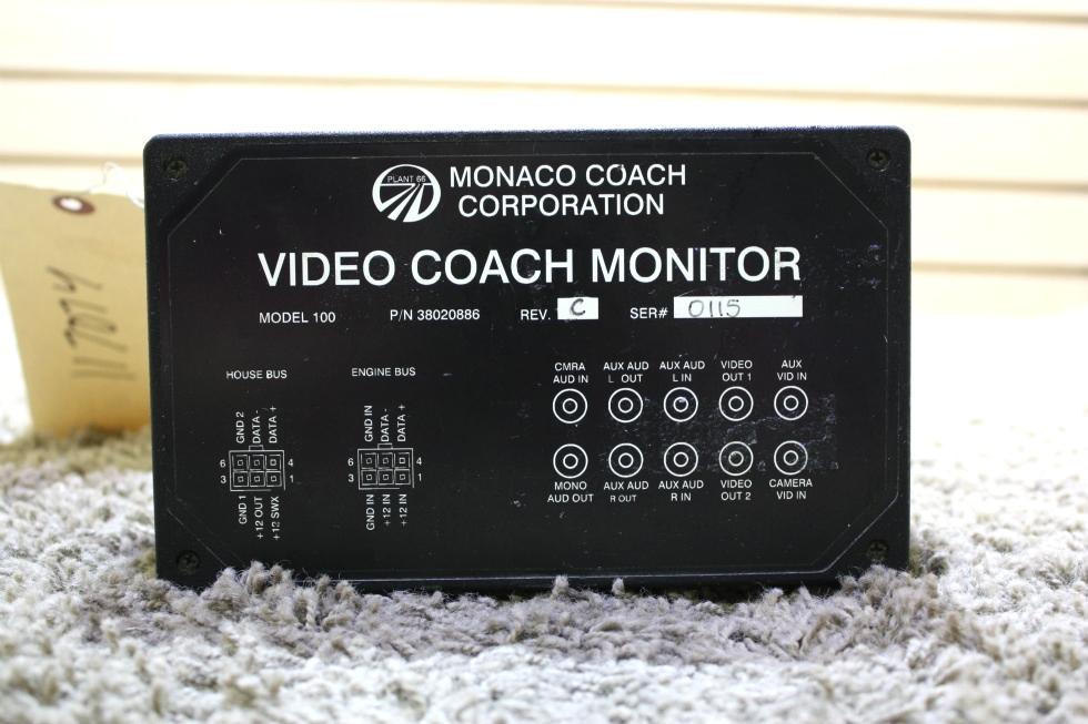 USED MONACO VIDEO COACH MONITOR 38020886 RV PARTS FOR SALE RV Components
