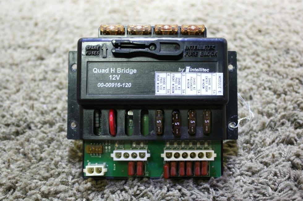 USED INTELLITEC 00-00916-120 QUAD H BRIDGE RV PARTS FOR SALE RV Components
