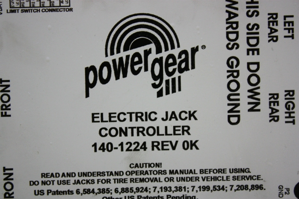 USED 140-1224 POWER GEAR ELECTRIC JACK CONTROLLER MOTORHOME PARTS FOR SALE RV Components