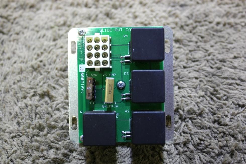 USED KIB 1661589F SLIDE-OUT CONTROL BOARD RV PARTS FOR SALE RV Components