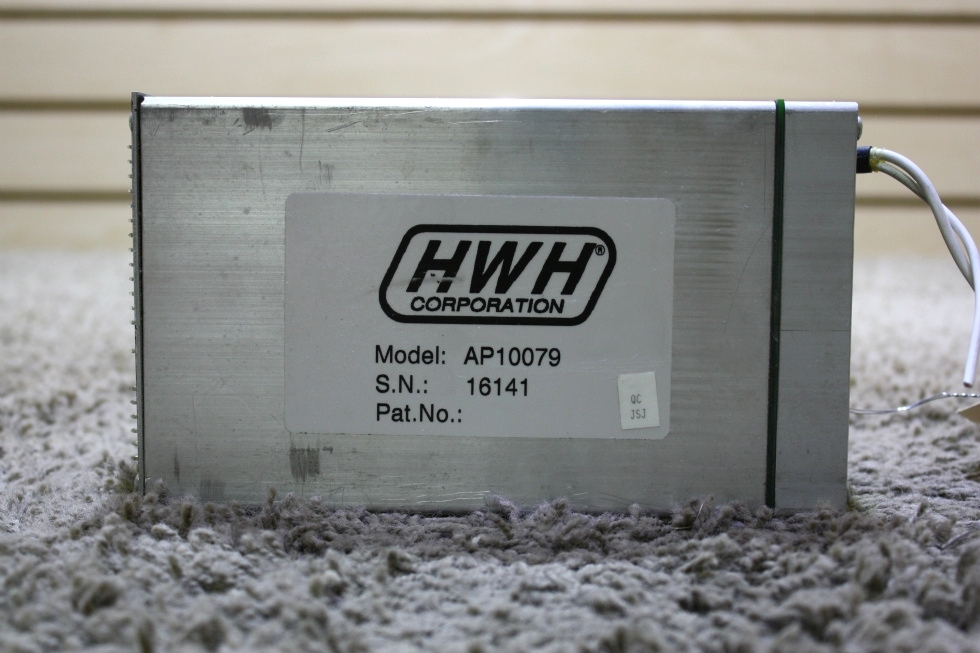 USED MOTORHOME HWH AP10079 LEVELING CONTROL BOX FOR SALE RV Components