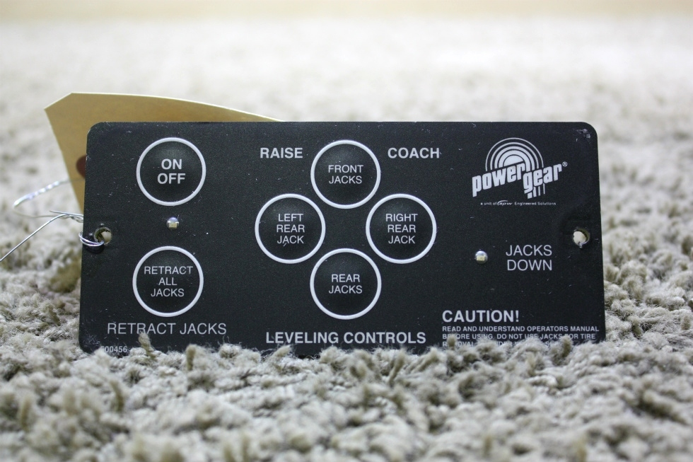 USED RV POWER GEAR 500456 LEVELING TOUCH PAD FOR SALE RV Components