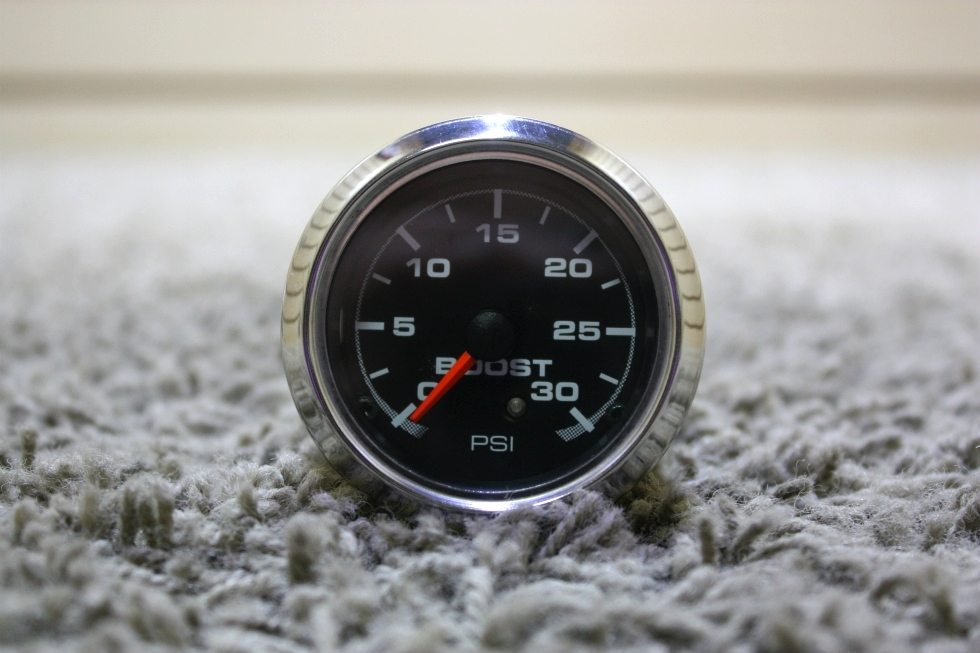 USED RV AIR PRESSURE 946072 BOOST PSI DASH GAUGE FOR SALE RV Components