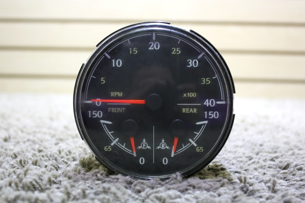 USED RV MEDALLION 8640-40015-29 3 IN 1 TACHOMETER FOR SALE RV Components