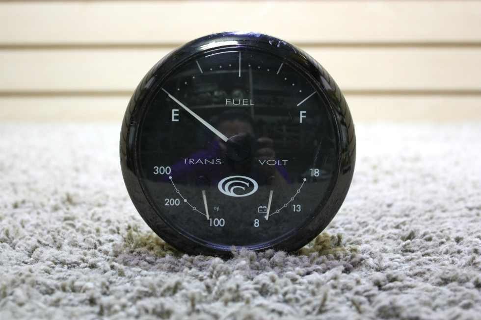 USED MOTORHOME 744-20001-29 3 IN 1 DASH GAUGE FOR SALE RV Components