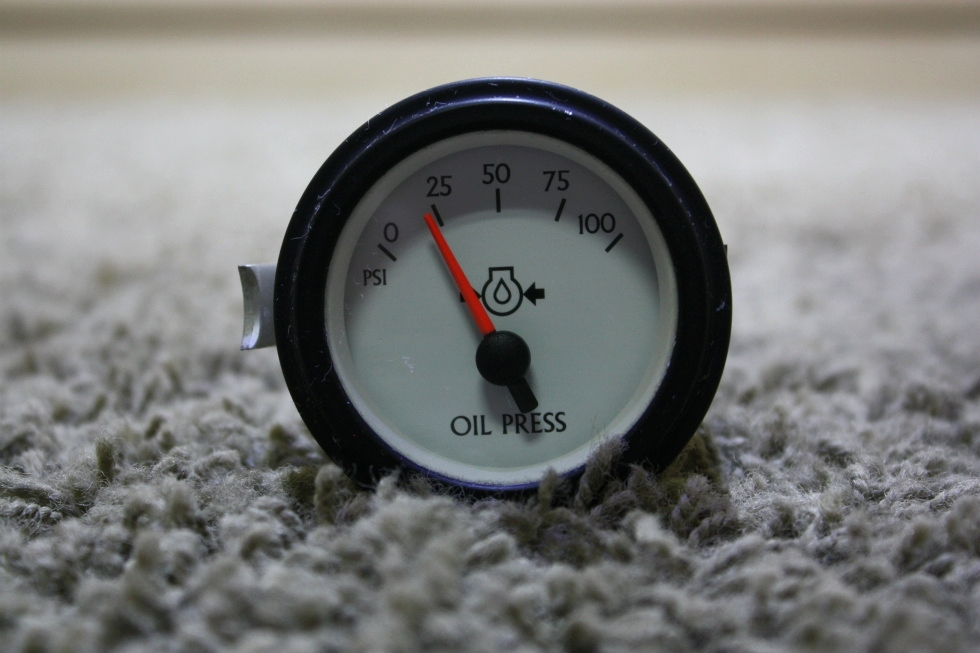 USED OIL PRESSURE GAUGE 944383 MOTORHOME PARTS FOR SALE RV Components