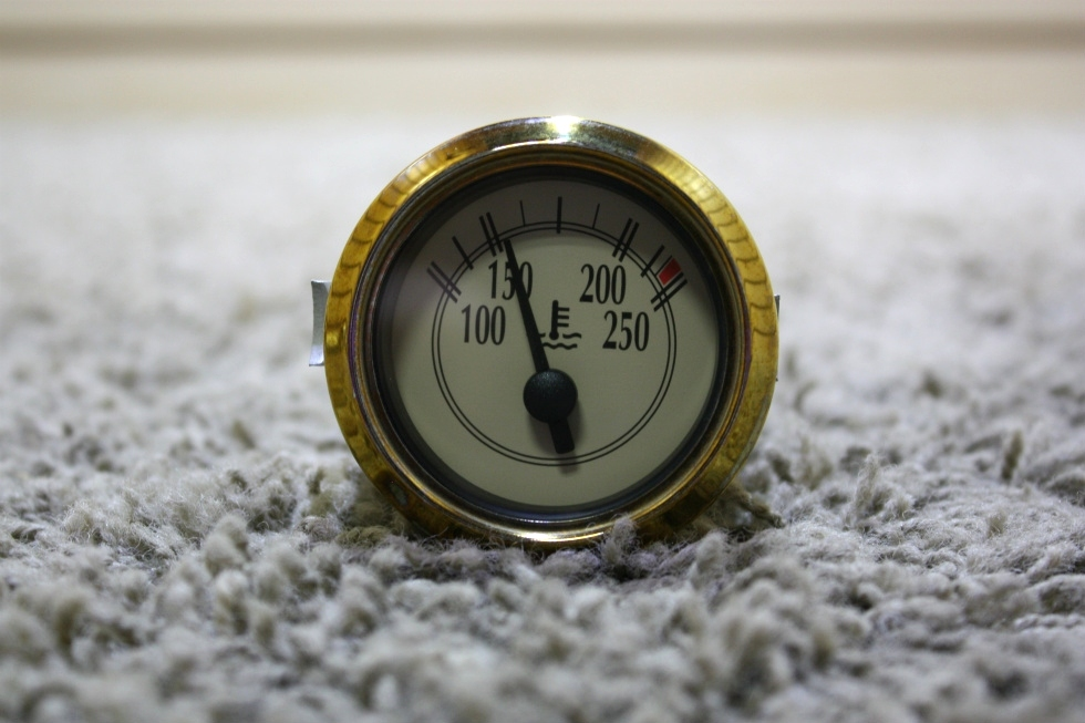 USED COOLANT TEMPERATURE MOTORHOME DASH GAUGE FOR SALE RV Components
