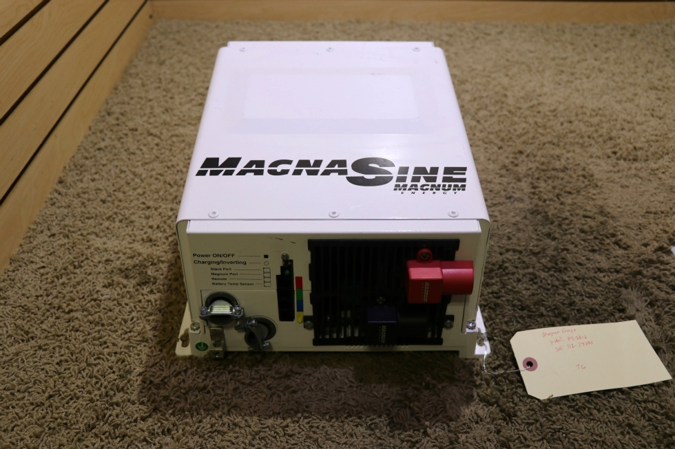 USED RV MAGNA SINE MS2812 MAGNUM ENERGY INVERTER CHARGER FOR SALE RV Components