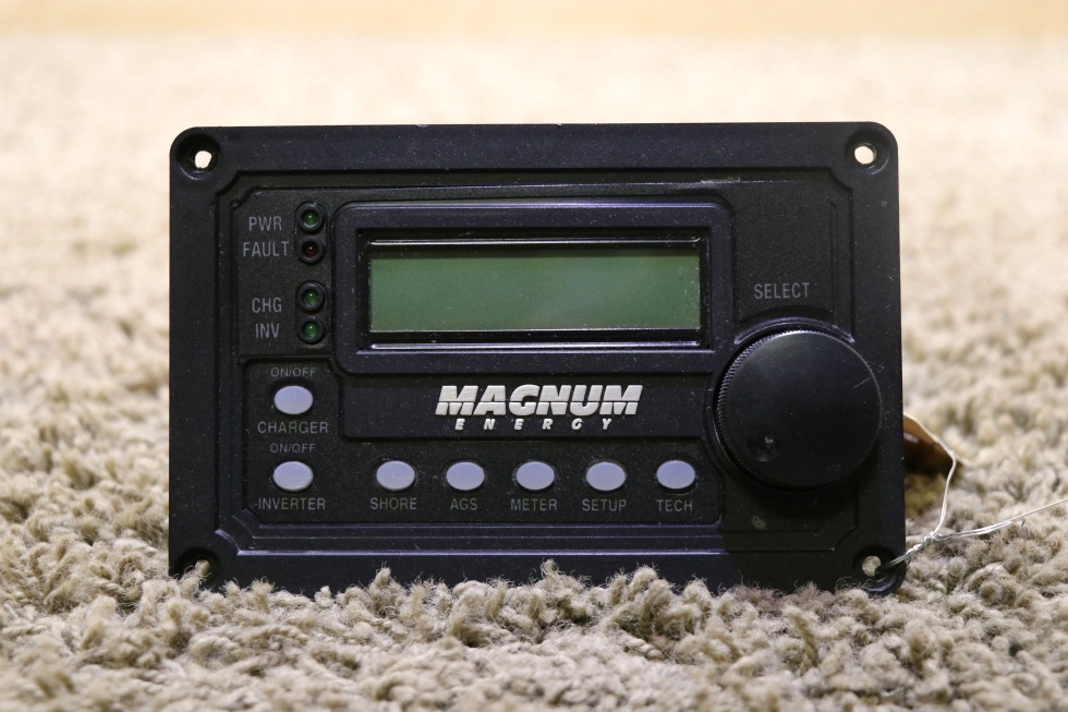 USED MOTORHOME MAGNUM ENERGY REMOTE PANEL FOR SALE RV Components