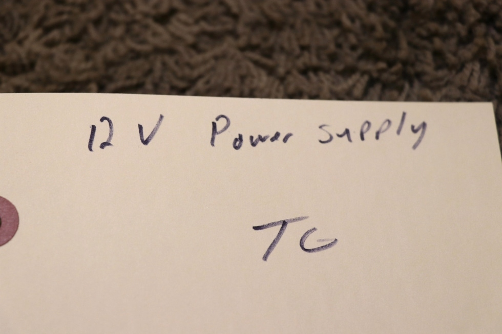 USED MOTORHOME S-201-12 SWITCHING POWER SUPPLY FOR SALE RV Components