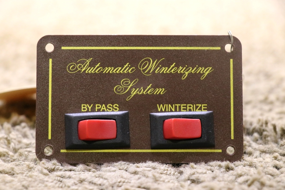 USED RV AUTOMATIC WINTERIZING SYSTEM SWITCH PANEL FOR SALE RV Components