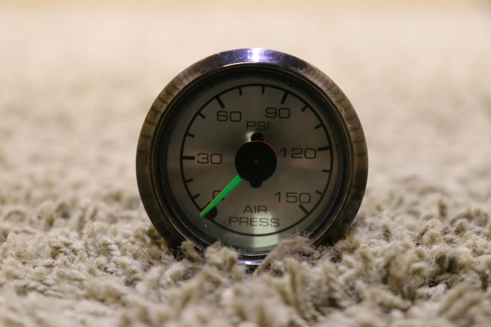 USED MOTORHOME AIR PRESSURE DASH GAUGE FOR SALE RV Components