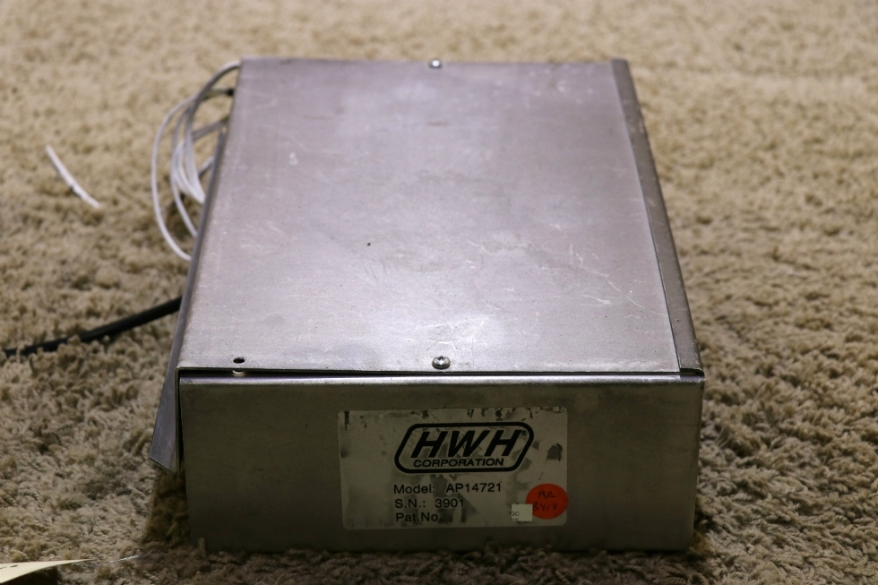 USED MOTORHOME HWH AP14721 LEVELING CONTROL BOX WITH LEVELING SENSOR FOR SALE RV Components