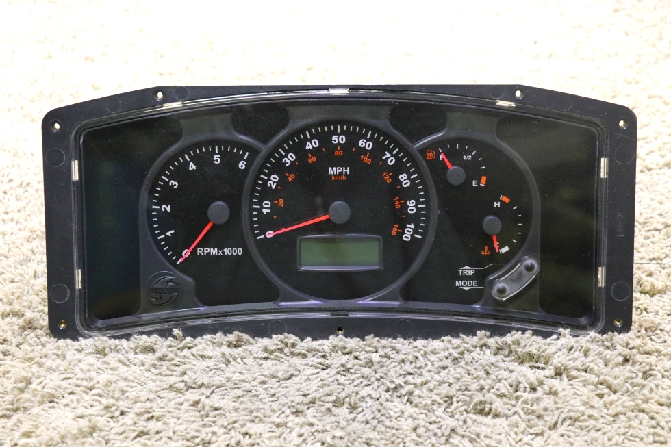 USED RV WORKHORSE DASH CLUSTER W02640404 FOR SALE RV Components