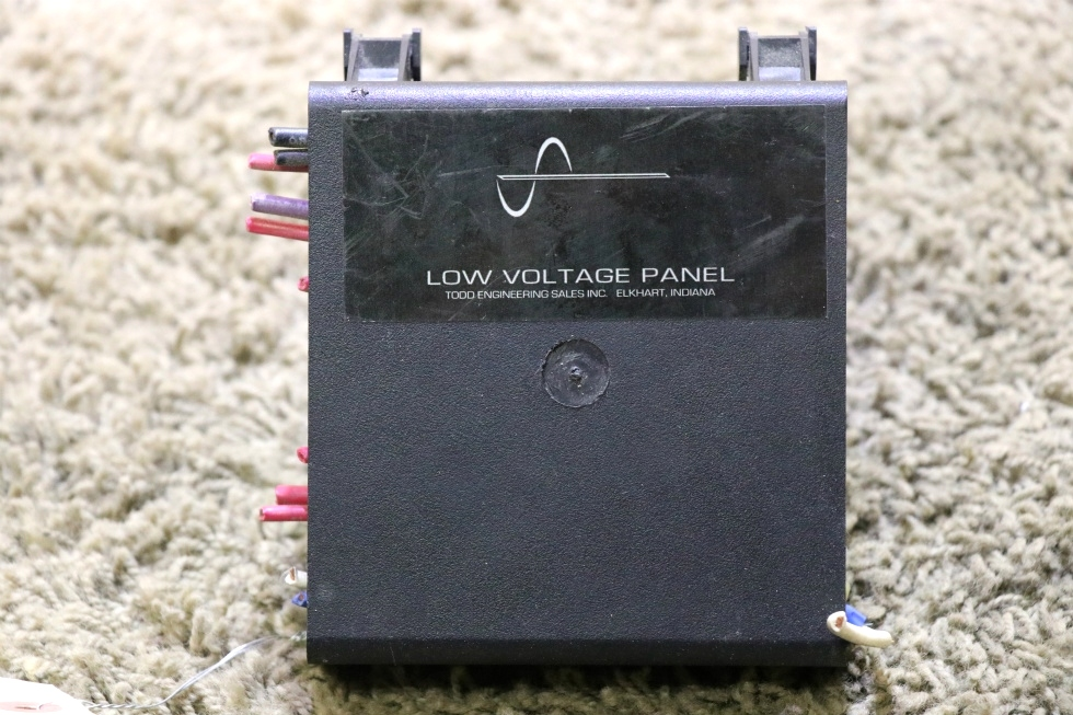 USED TODD ENGINEERING LOW VOLTAGE PANEL RV PARTS FOR SALE RV Components