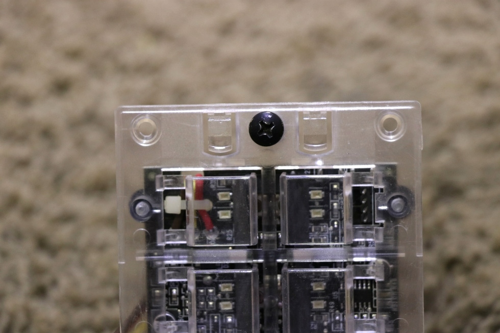 USED RV 00-00869-010 INTELLITEC 10 BUTTON SWITCH PANEL FOR SALE RV Components