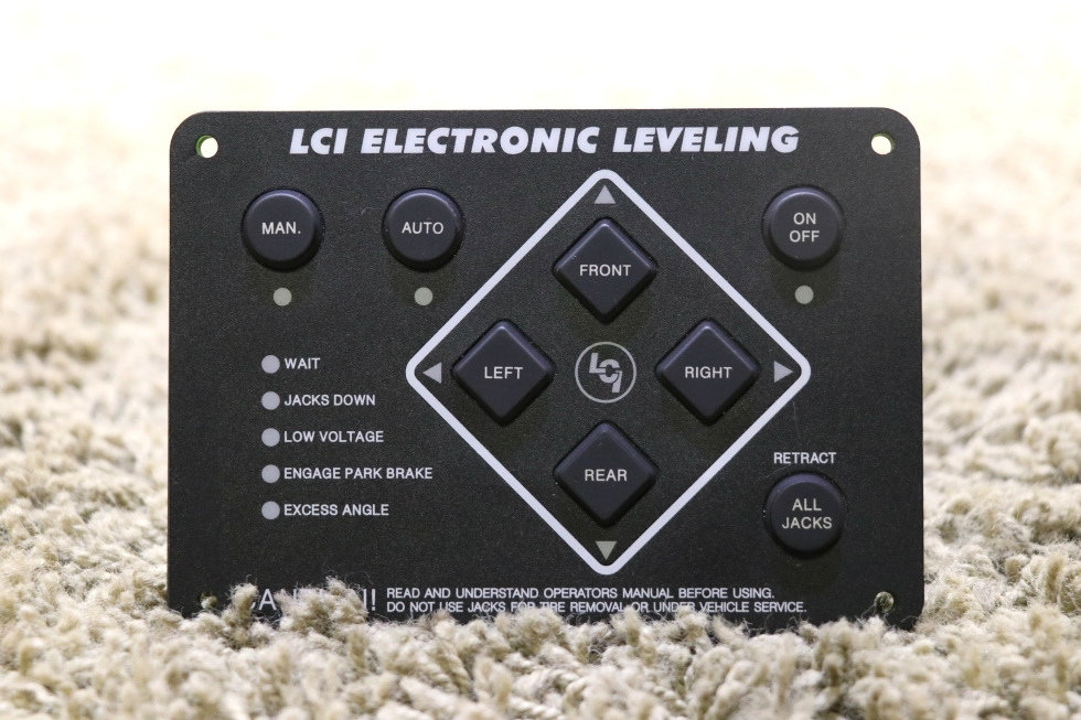USED MOTORHOME LCI ELECTRONIC LEVELING TOUCH PAD FOR SALE RV Components