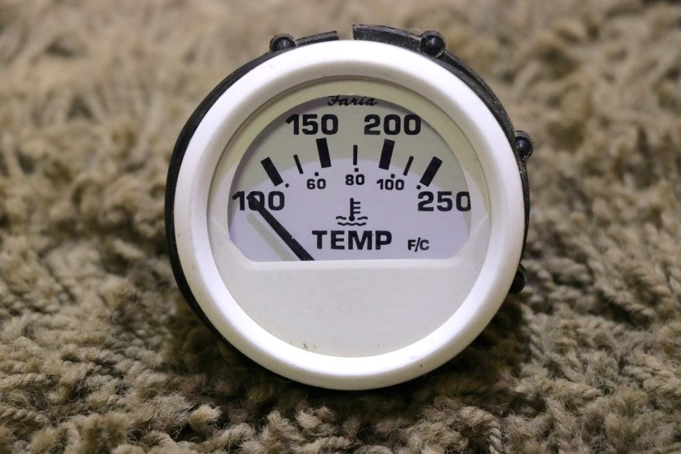 USED MOTORHOME FARIA TEMPERATURE GAUGE GP9120E FOR SALE RV Components