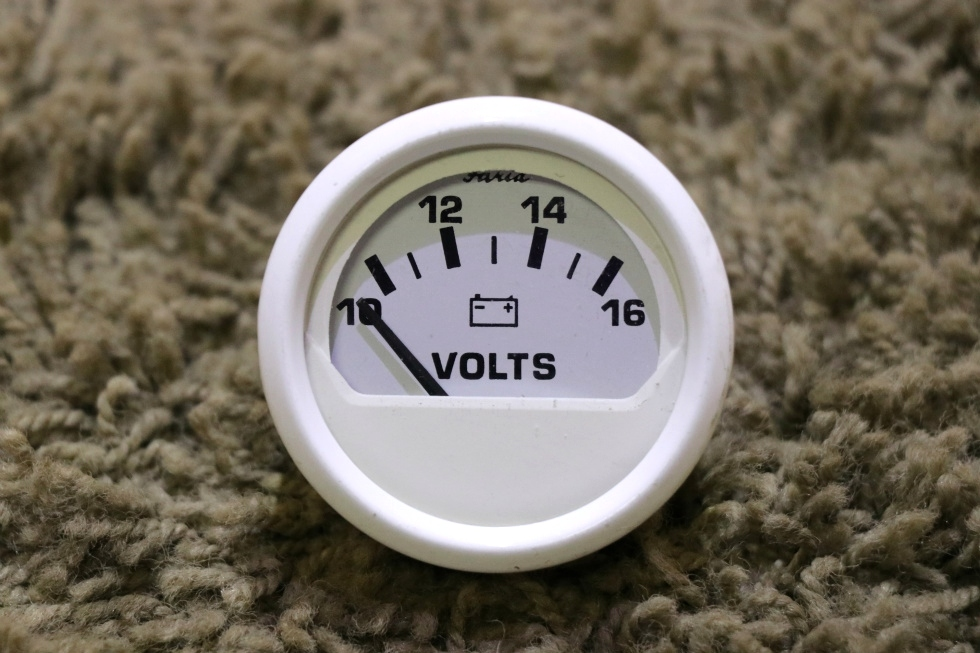 USED FARIA VP9139D VOLTS RV DASH GAUGE FOR SALE RV Components