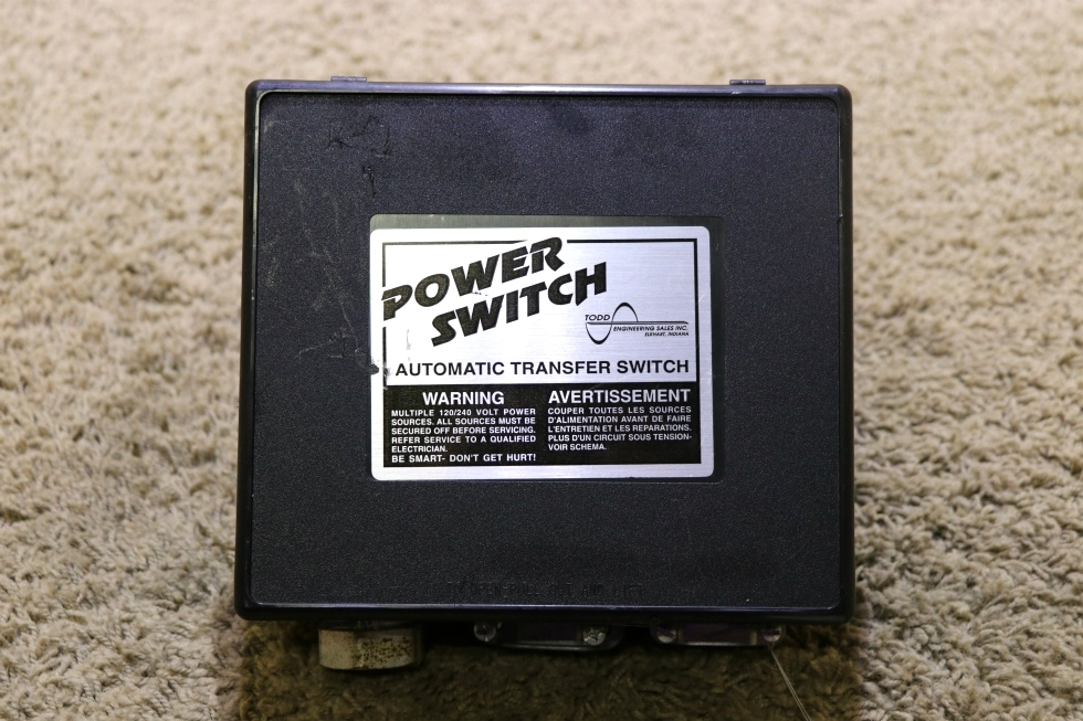 USED MOTORHOME POWER SWITCH PS 245L AUTOMATIC TRANSFER SWITCH FOR SALE RV Components
