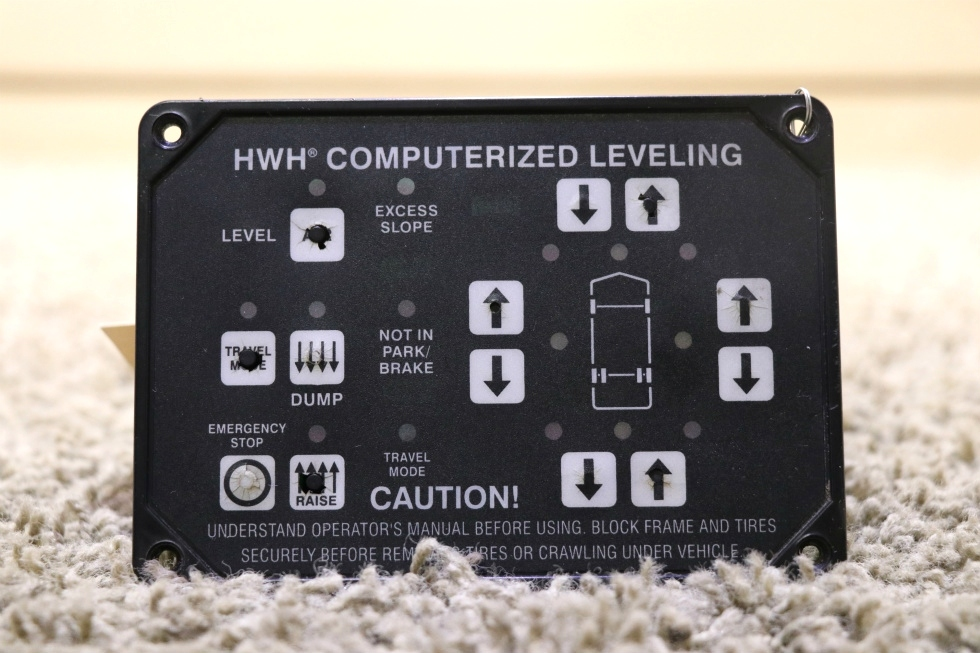 USED AP22905 HWH COMPUTERIZED LEVELING TOUCH PAD RV PARTS FOR SALE RV Components