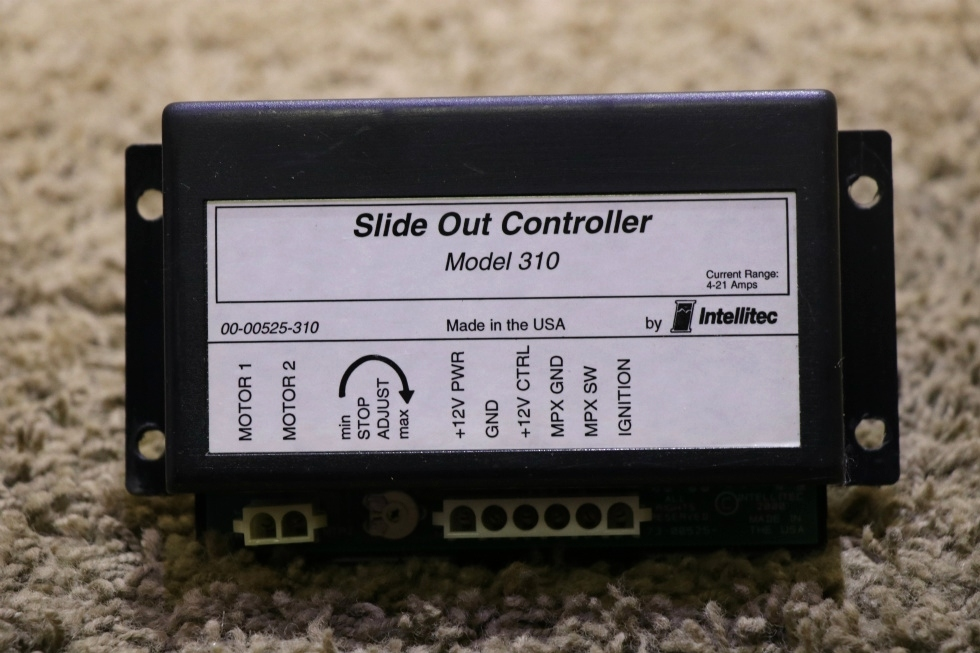 USED MOTORHOME SLIDE OUT CONTROLLER MODEL 310 BY INTELLITEC 00-00525-310 FOR SALE RV Components