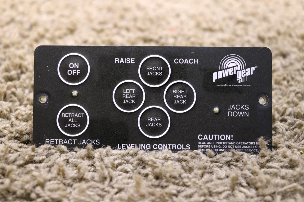 USED RV POWER GEAR 500456 LEVELING CONTROLS TOUCH PAD FOR SALE RV Components