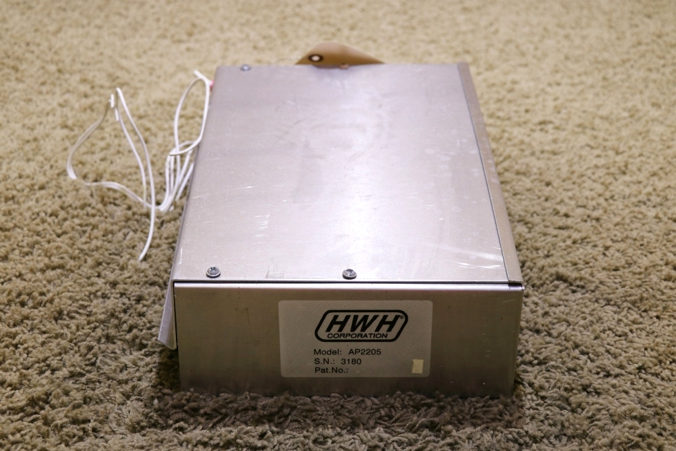 USED AP2205 HWH LEVELING CONTROL BOX RV PARTS FOR SALE RV Components