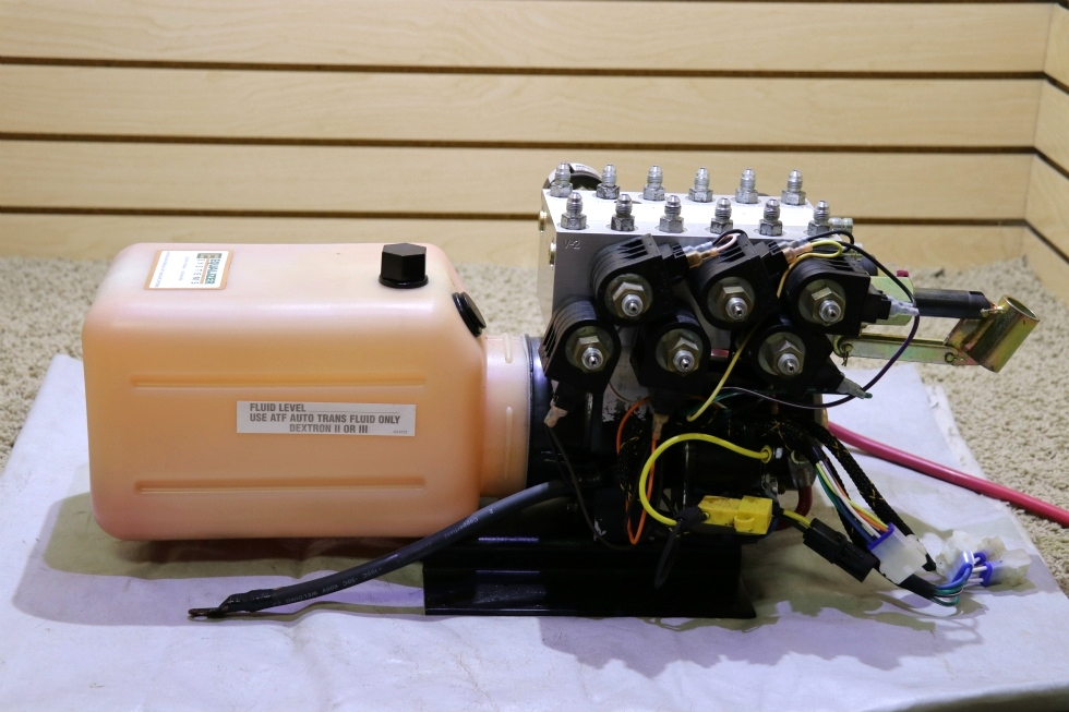 USED MOTORHOME S103T*4989 EQUALIZER SYSTEM HYDRAULIC PUMP RV PARTS FOR SALE RV Components