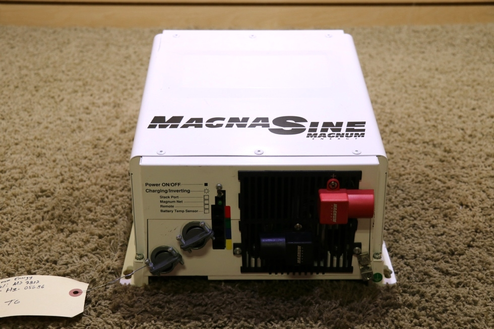 USED MS2818 MAGNA SINE RV MAGNUM ENERGY INVERTER CHARGER MOTORHOME PARTS FOR SALE RV Components
