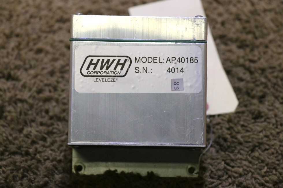 USED MOTORHOME AP40185 HWH LEVELING CONTROL BOX RV PARTS FOR SALE RV Components