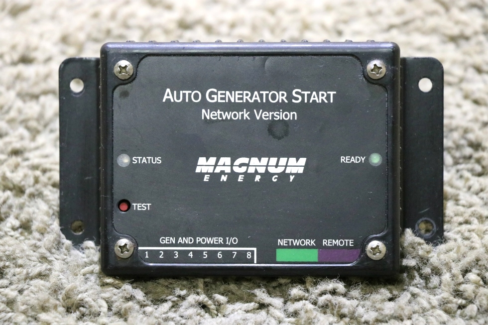 USED RV MAGNUM ENERGY AUTO GENERATOR START MOTORHOME PARTS FOR SALE RV Components