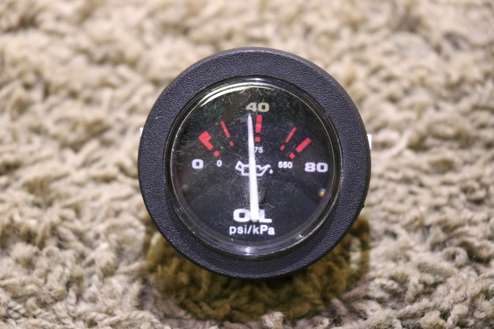 USED MOTORHOME 57916 OIL PRESSURE GAUGE RV PARTS FOR SALE RV Components