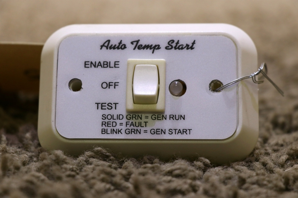 USED RV A9159WH AUTO TEMP START SWITCH MOTORHOME PARTS FOR SALE RV Components