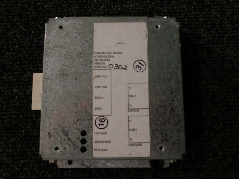 USED ALADDIN TEMPERATURE MODULE P/N 38030060 FOR SALE RV Components