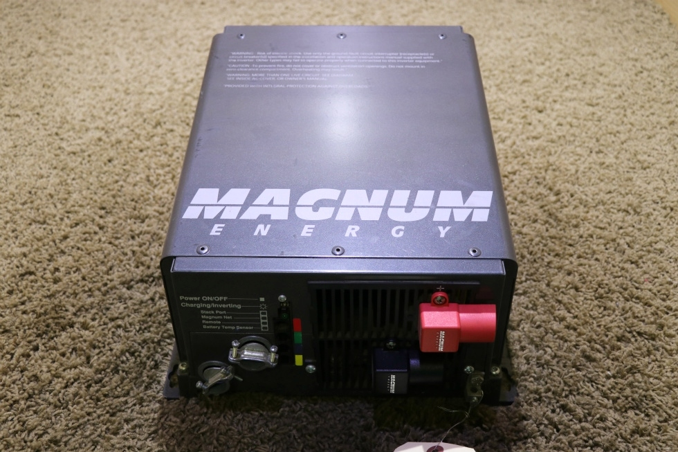 USED RV ME2012 MAGNUM ENERGY INVERTER CHARGER MOTORHOME PARTS FOR SALE RV Components