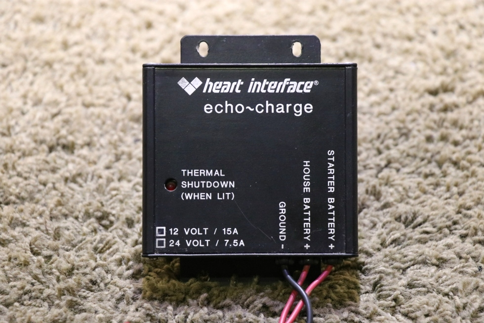 USED MOTORHOME HEART INTERFACE ECHO-CHARGE 82-0121-02(200) RV PARTS FOR SALE RV Components