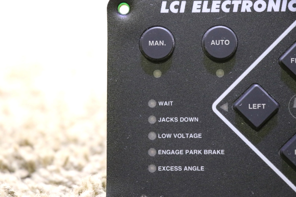 RV Components USED LCI ELECTRONIC LEVELING TOUCH PAD 10537B