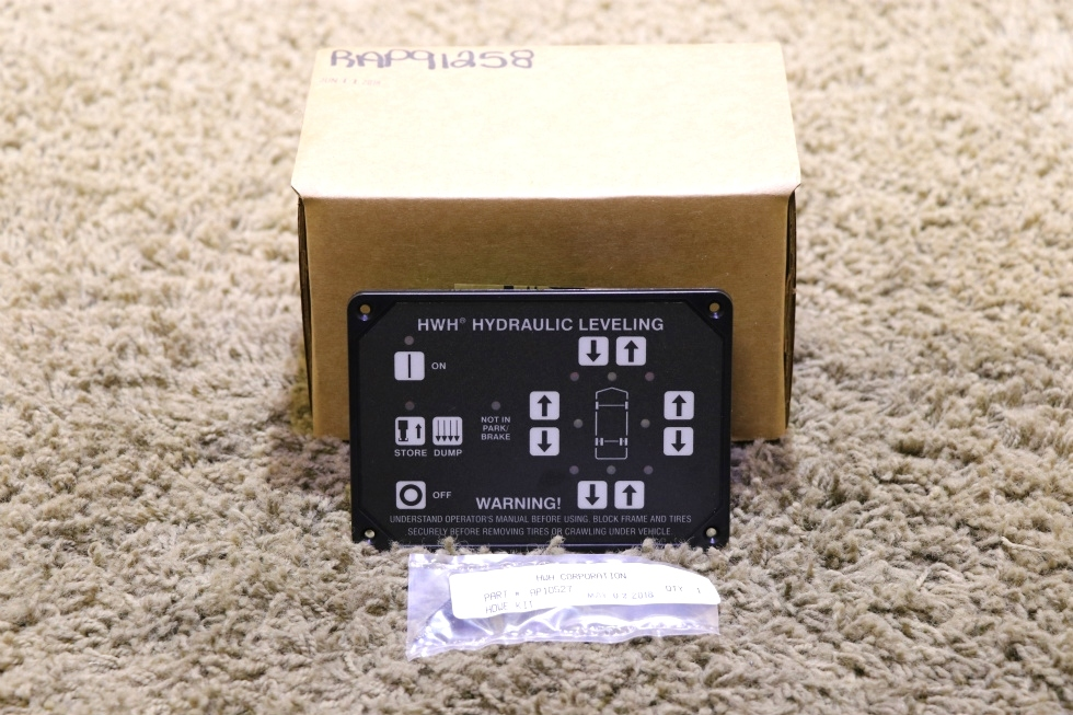 RV AP31351 HWH HYDRAULIC LEVELING CONTROL TOUCH PAD MOTORHOME PARTS FOR SALE RV Components