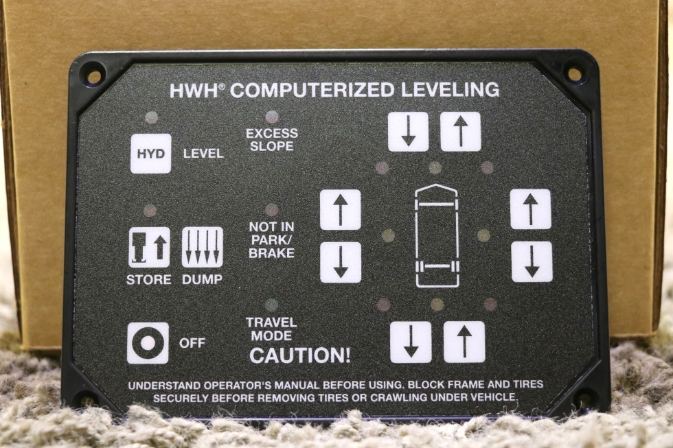 MOTORHOME HWH AP1088 COMPUTERIZED LEVELING TOUCH PAD RV PARTS FOR SALE RV Components