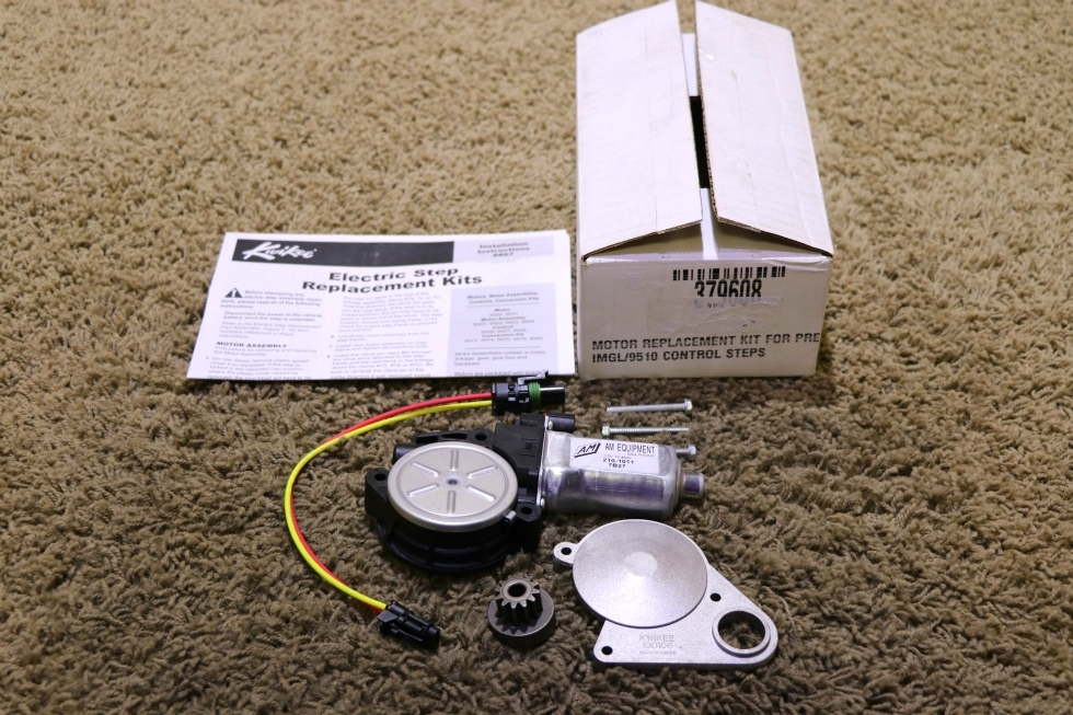 NEW 379608 LIPPERT COMPONENTS ENTRY STEP MOTOR REPLACEMENT KIT RV PARTS FOR SALE RV Components