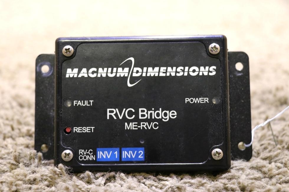 USED RV MAGNUM DIMENSIONS RVC BRIDGE ME-RVC MOTORHOME PARTS FOR SALE RV Components